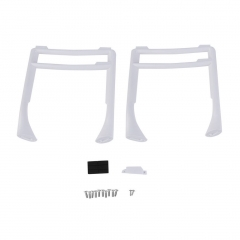 1 Pair White High Extended Tall Landing Gear Landing Skid For Phantom 3 With Screw