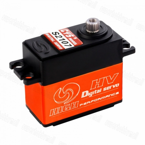 CYS-S2107 Digital Titanium Coreless Servo For RC Airplane Boat Cars 8.5kg.cm 40.1x20.1x37.3mm