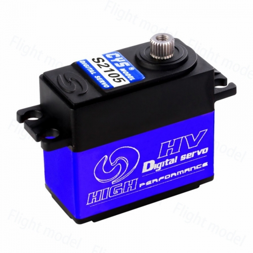 CYS-S2105 Digital Titanium Coreless Servo For RC Airplane Boat Cars 6kg.cm