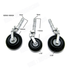 Aluminum Alloy Undercarriage Anti-vibration Landing Gear For Class 120 Airplane