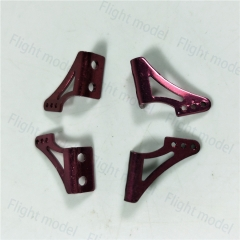 1 Pair Aluminum alloy Rudder Servo Rob Angle Horn Set For RC Airplane