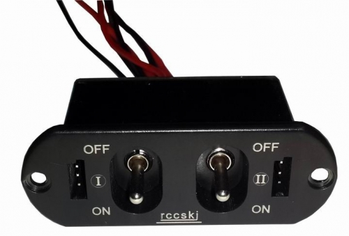 Rccskj 15A Heavy Current Dual Switch