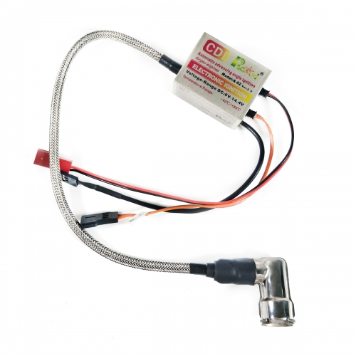 RCEXL Single Ignition CDI with 90 Degree Cap for NGK BPMR6F 14mm