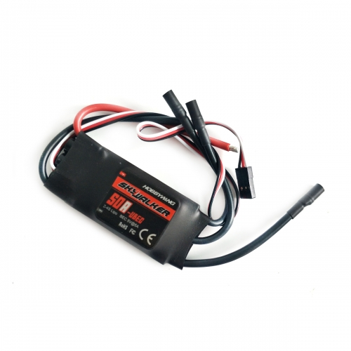 Hobbywing SkyWalker-50A 2-4S UBEC Electric Speed Control ESC 440/450 Helicopter