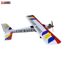 Courage-10 59.4inch/1510mm 40E Trainer Glow/Electric ARF