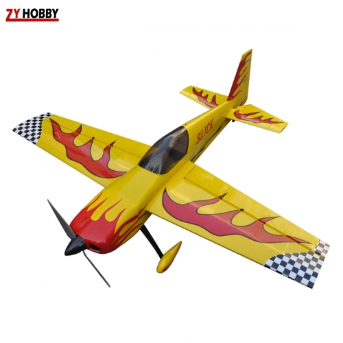 Yellow Slick 70inch 70E Balsa wood  3D EP ARF