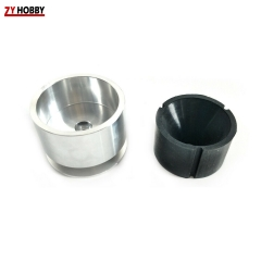 TOC Roto Terminator Starter Replace Rubber Cap and Metal Cone