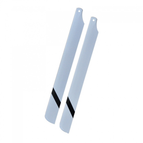 325mm 360mm Glasssy Carbon Fiber Main Blades for RC Helicopter