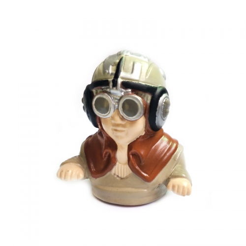 Boy Pilot Figure L55×W36×H62mm 1/7 Scale