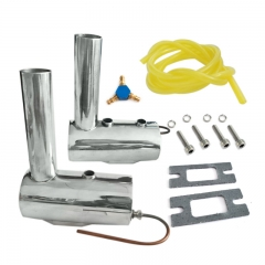 Exhaust Kit for Dual Cylinder Engine DLE111 DA100