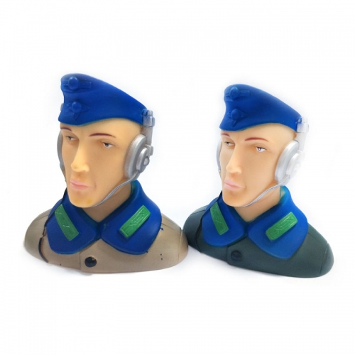 1/6 Scale Pilots Figures with Headset L68*W41*H70mm