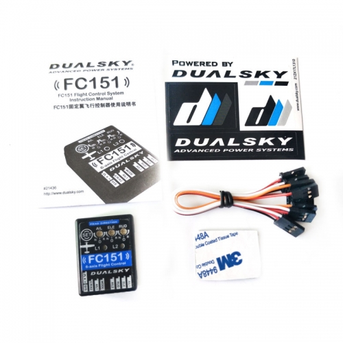 FC151- Airplane Flight Control auto level 3 Axis gypo + 3 Axis accelerometer