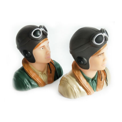 1/9 Scale WWII Pilots Figure L44*W23*H40mm