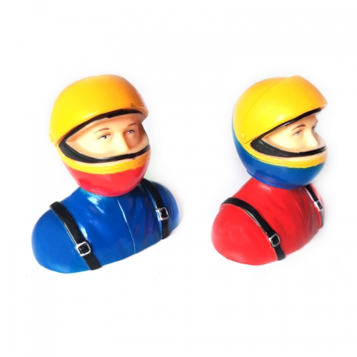 1/6 Scale Pilots Figures With Hat L64*W40*H69mm