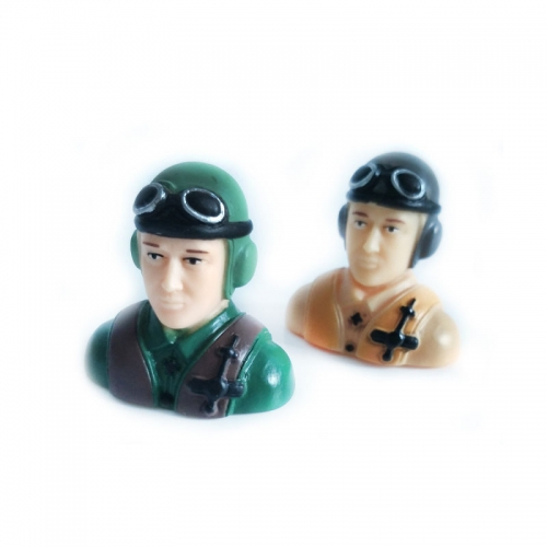 1/9 Scale Pilots Figures L40*W23*H39mm