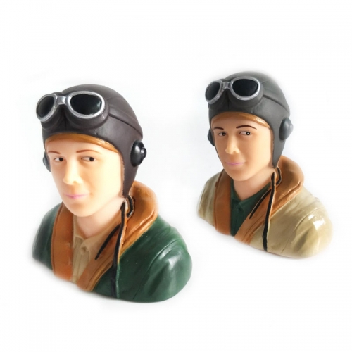 1/6 Scale WWII Pilots Figure L67*W40*H66mm
