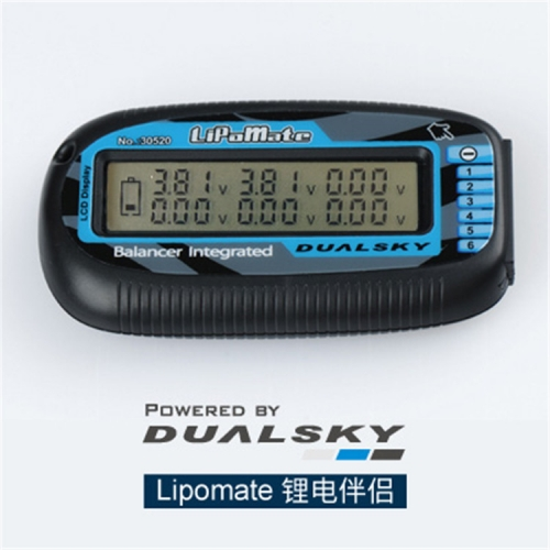 DualSKY Lipomate 2S~6S Voltage Indicator