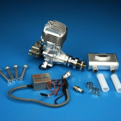 DLE 35RA 35CC Rear Exhaust Single Cylinder Two Stroke Gas Engine