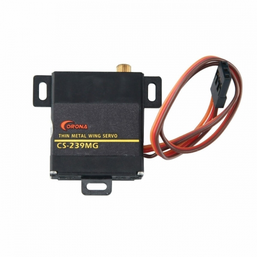 Corona CS239MG Thin Metal Servo Analog Servos for RC Model Airplane US Stock