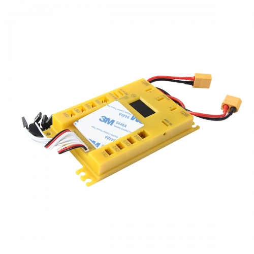 Mini Power DP UBEC 4.8-9.7V Servo Section Board with Dual Power Input Wire 4105#