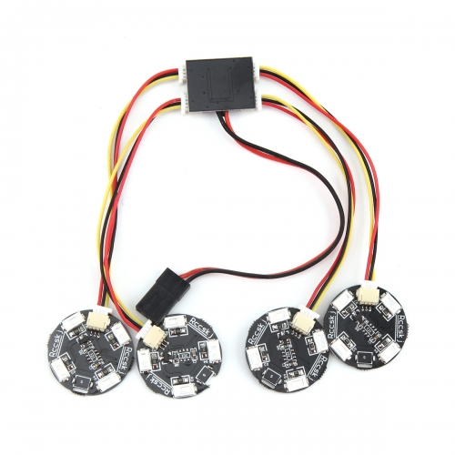 4 LED Lamp Navigation Lights for Multi-Rotor Drone