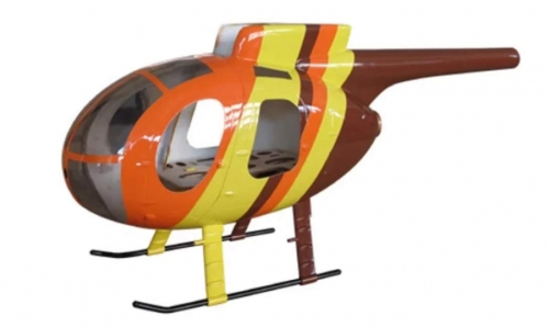 RC Helicopter MD500E 450 Pre-Painted fuselage for 450 Size Helicopters